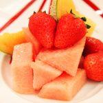 季節のフルーツ デザート